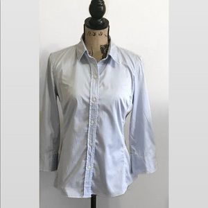 BANANA REPUBLIC- Fitted Work Button Down